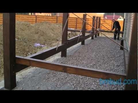 Устройство террасы и балкона из дерева, БмБуд
