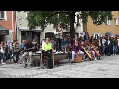 "Flashmob ""Skyfall"" Adele | Ingolstadt"