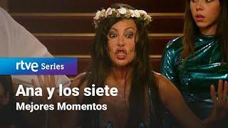 Ana Y Los Siete 3x06 Una Noche Loca Rtve Series Youtube