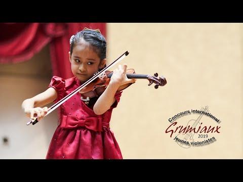 Himari YOSHIMURA - 7 yo Japan - 1st Grand Prize - International Grumiaux Competition 2019 - Paganini
