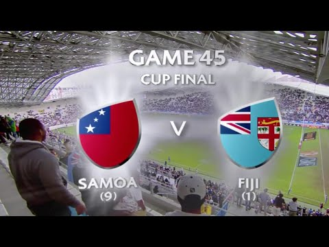 Fiji vs Samoa Paris 7s 2016 Cup Final HD