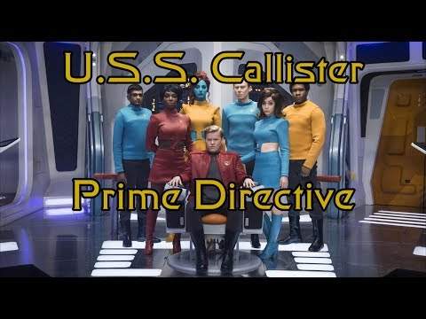 Black Mirror's Star Trek Episode - U.S.S. Callister Spoliers Review - Prime Directive