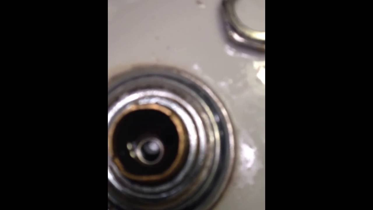 Delta Faucet Repair using the New Push and Set tool - YouTube