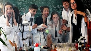 ЦІКАВІ ТА НЕСТАНДАРТНІ УРОКИ ХІМІЇ | Interesting and unusual chemistry lessons