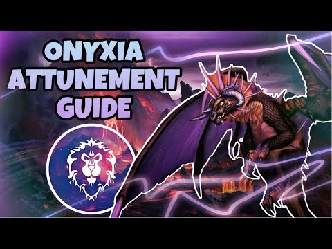 FULL Onyxia Attunement Guide - ALLIANCE | Classic WoW Quest Guide
