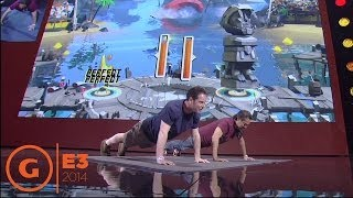 Shape Up Gameplay - E3 2014 Stage Demo at Ubisoft Press Conference