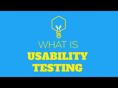 What is Usability Testing?