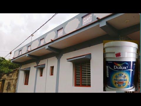 Dulux Promise Exterior Mid Reng Paint.Light& Dark Grey Combination