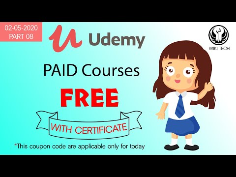 Udemy Free Courses with free online certificates | #UdemyCoupon #FreeOnlineCourses 03-may | Part 08