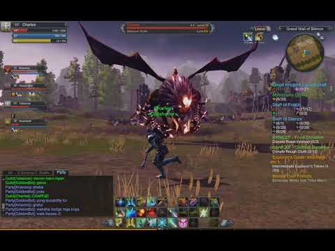 Raiderz Gameplay