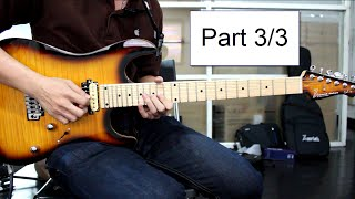 How to play : Canon Rock Solo Lesson Part 3/3 By Nut