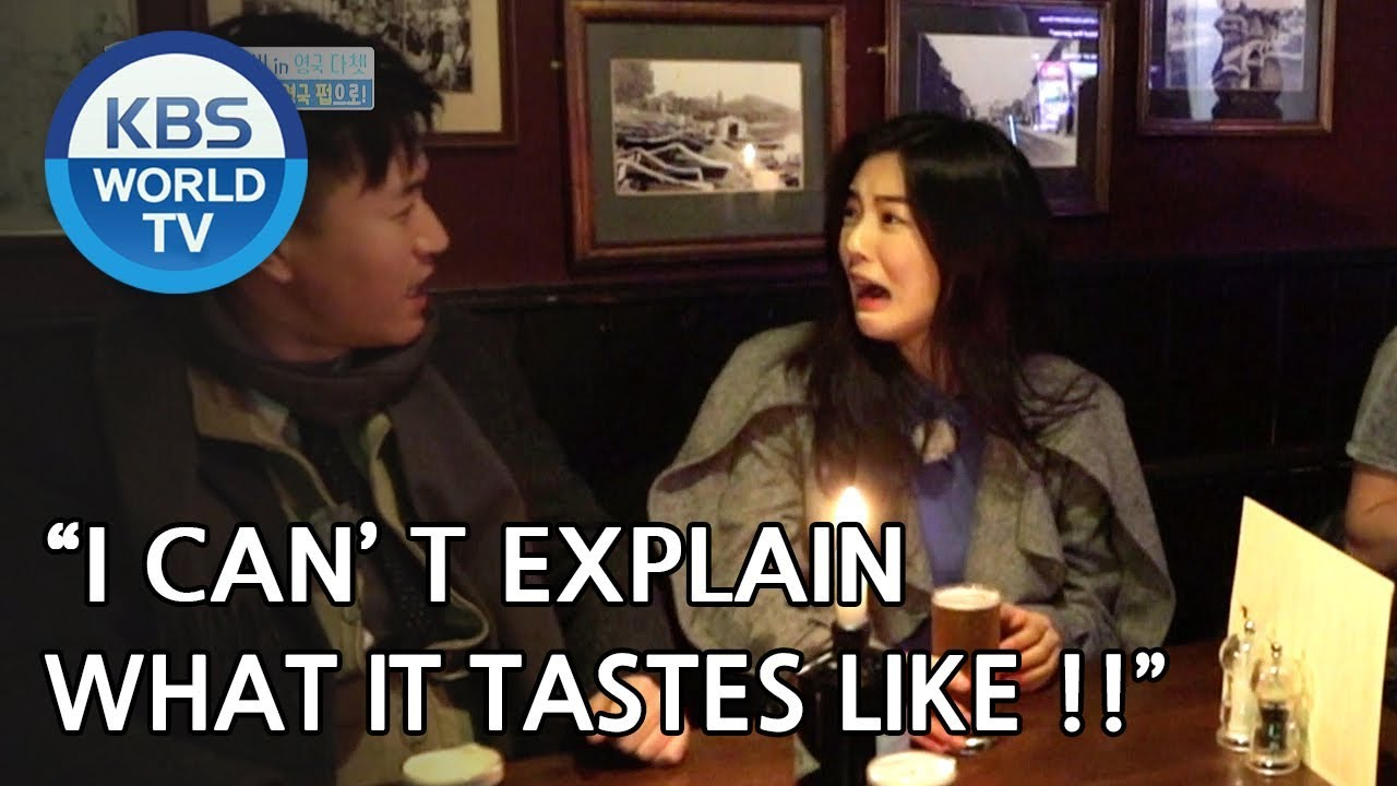 Jongmin & Sunbin enter a British Pub [One Night Sleepover Trip/ 2018.05.01]
