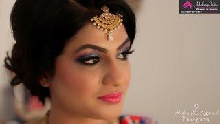 Roka/ Mehendi ceremony makeup by Shweta Sachani
