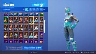 J'achète le nouveau pack légende glacière sur FORTNITE battle royal