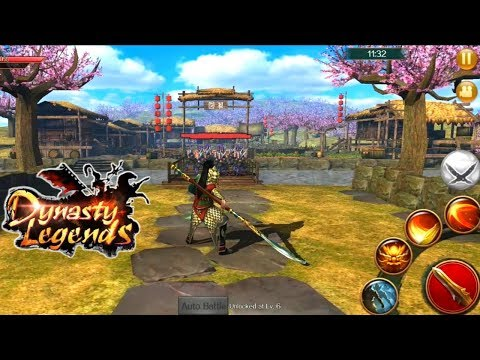 Dynasty Legends: True Hero Rises From Chaos Gameplay - (Action RPG) Android/IOS