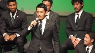 2017年1月22日(日) in まつもと市民芸術館 サポーターから監督・選手...
