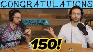 Matt's Back (150) | Congratulations Podcast with Chris D'Elia