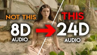 Lorde - Stoned at the Nail Salon [24D Audio   Not 16D/8D]🎧