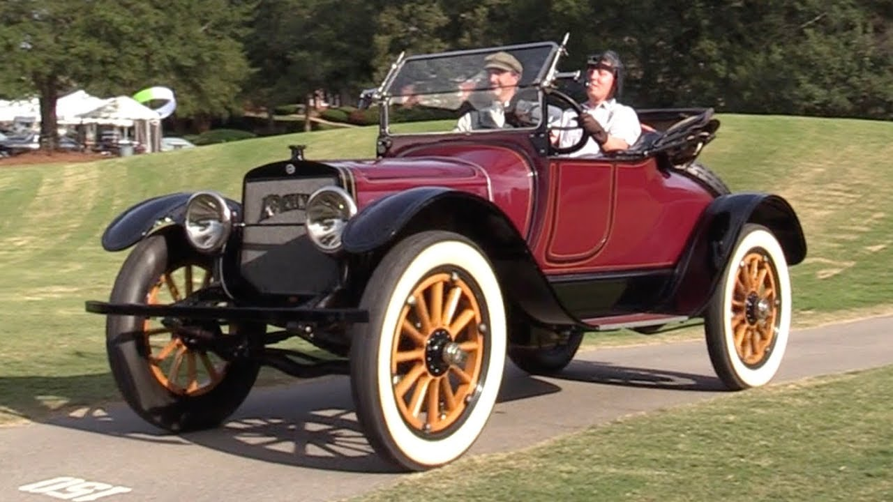 Driving a Brass Era Luxury Car for the First Time: 1914 Lozier Model ...