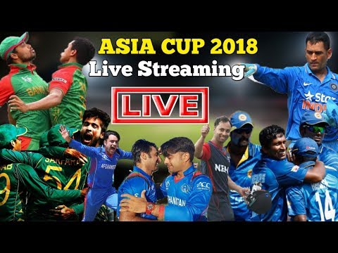 Asia Cup 2018 Live Streaming,Live Telecast Channels || Mobile Apps