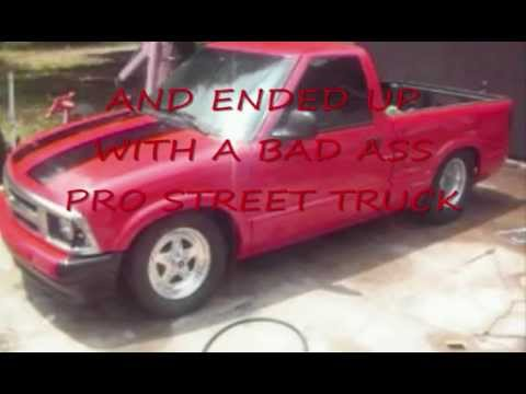 PRO STREET CHEVY S-10. HOME BUDGET BUILD - YouTube