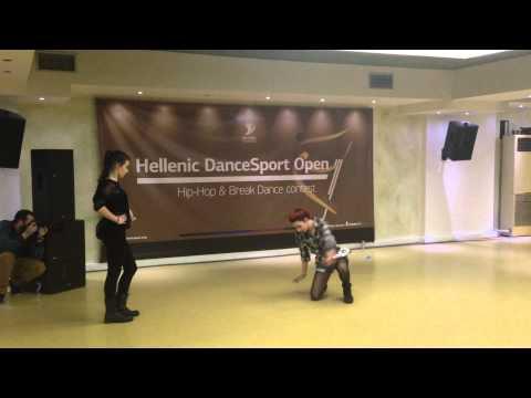 Hellenic dance sport open Nεφελη θεοδοτου Ευγενια Ποταγα