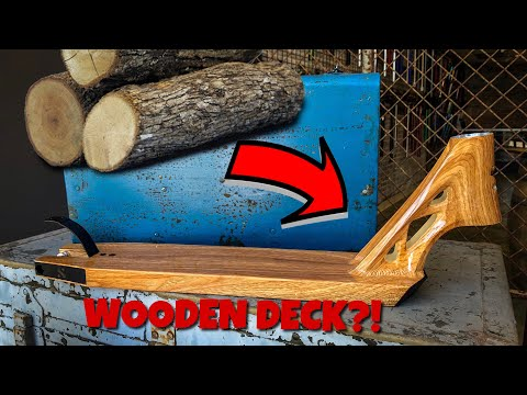 WOODEN PRO SCOOTER DECK?