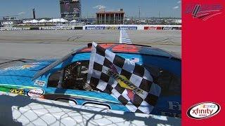 Taming Talladega: Almirola Wins Wild Xfinity Race