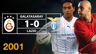 Nostalji Maçlar | Galatasaray 1 - 0 Lazio ( 11.09.2001 )