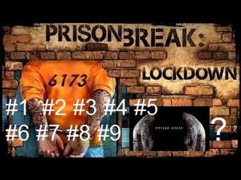 Prison Break Lockdown 1,2,3,4,5,6,7,8,9