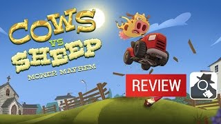 COWS VS SHEEP: MOWER MAYHEM | AppSpy Review