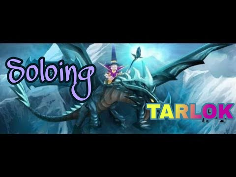 How To Defeat Tarlok | ARCANE LEGENDS | BOSS SOLOING - NOOB GEARS