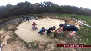 2013 Spartan Beast, South London; The Trek and Run View