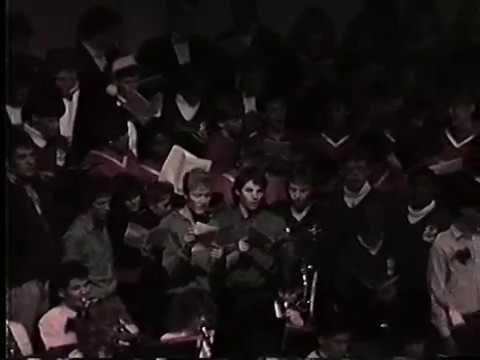Berea High School Hallelujah Chorus (1988)