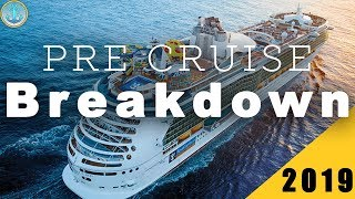 NEW!   Independence of the Seas Pre Cruise Breakdown 2019!