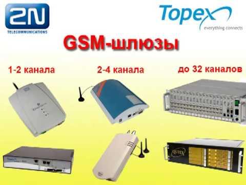 Видео: GSM-шлюз - самая дешевая сотовая связь для офиса