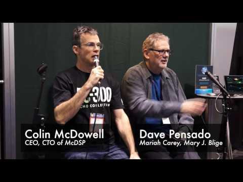 Dave Pensado at McDSP booth NAMM 2017