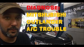 No A/C Mitsubishi Outlander Part 1