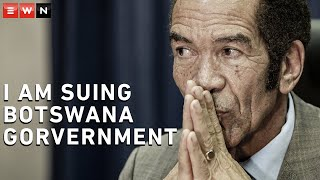 Jako Hubona filed affidavits saying former President Ian Khama, South African business person Bridgette Motsepe-Radebe and others stole billions, some of which were sent to South Africa.
