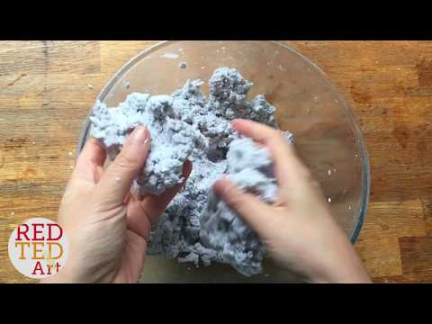 How To Make Paper Clay - Newspaper Or Shredded Paper - Craft Basics
