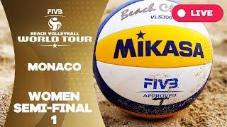 Monaco 1-Star 2017 - Women Semi Final 1 - Beach Volleyball World Tour(, 2017-06-18T09:59:55.000Z)