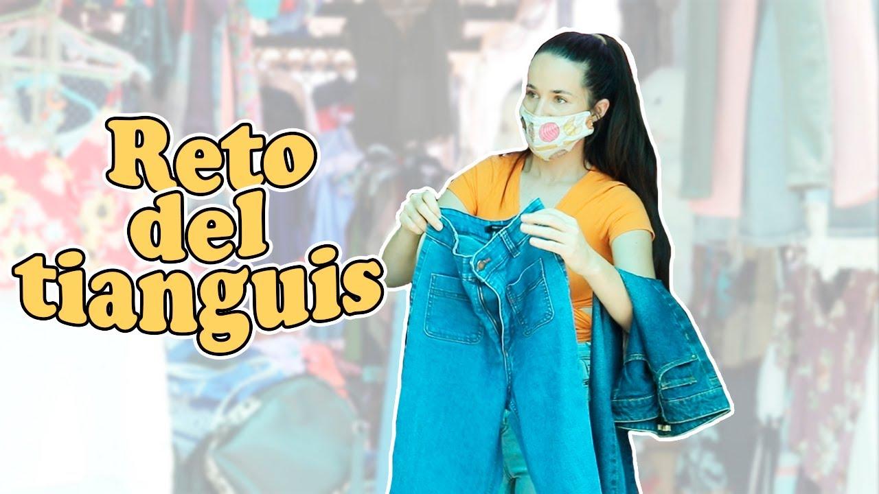 Outfit de los 70's con $250 pesos *Reto del tianguis*