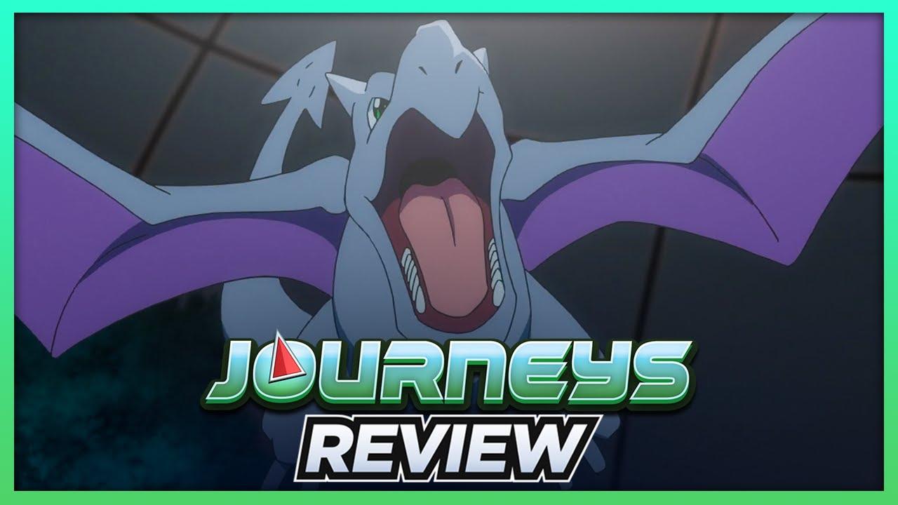 Goh Catches Aerodactyl!   Pokémon Journeys Episode 38 Review
