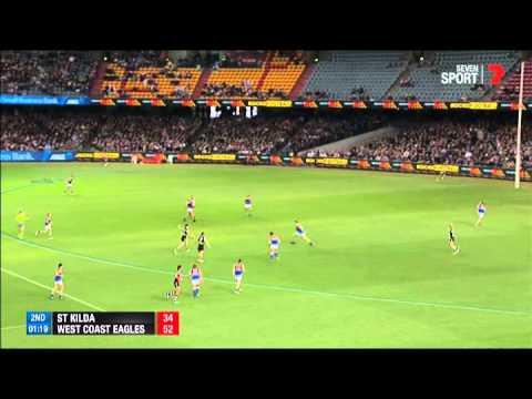 Round 8 AFL - St Kilda v West Coast Eagles Highlights ...