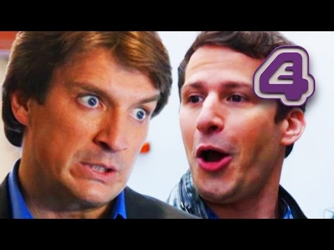 Nathan Fillion, As Famous TV Detective, Teams Up With Jake & Rosa! | Brooklyn Nine-Nine