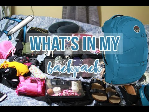 WHAT I PACKED IN MY OSPREY BACKPACK: TWO MONTHS IN EUROPE CARRY-ON ONLY