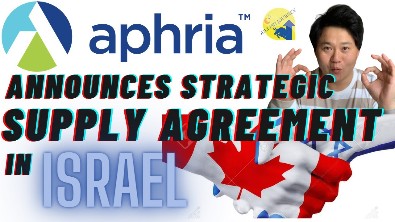 APHRIA (#apha) announces strategic supply agreement with CANNDOC ltd. in ISRAEL!