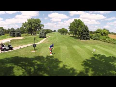 Game On fundraiser at Hillcrest Country Club - Drone Video