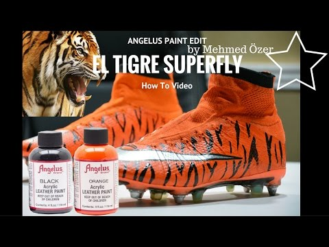 Angelus Paint ϟ Painting Football Boots with Angelus