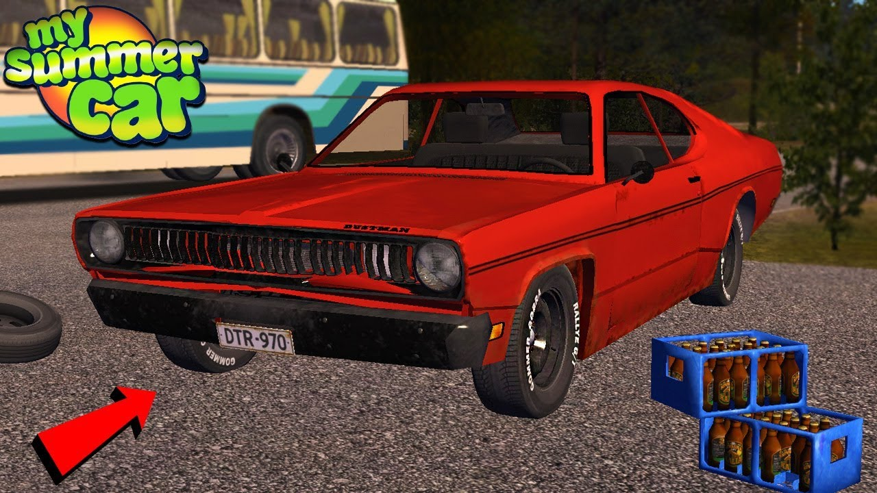 My Summer Car - NEW MUSCLE CAR (EPIC MOD)